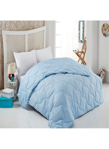 Komfort Home Renkli Çift Kişilik PolyCotton Yorgan +2 Yastık Renkli